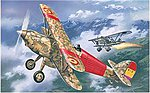 Hawker Fury Spanish Air Force BiPlane Fighter 1939 -- Plastic Model Airplane Kit -- 1/72 -- #72139