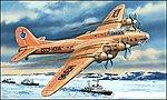 Petlyakov Pe8 (Polar Aviation) Bomber -- Plastic Model Airplane Kit -- 1/72 Scale -- #72155