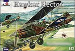 Hawker Hector British BiPlane Fighter -- Plastic Model Airplane Kit -- 1/72 Scale -- #72194