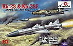 Kh28 & Kh28E NATO Code AS9 Kyle Rockets -- Plastic Model Airplane Kit -- 1/72 Scale -- #72288