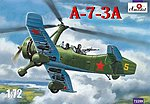 A7-3A Soviet Autogiro Fighter/Bomber -- Plastic Model Airplane Kit -- 1/72 Scale -- #72289