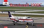 Beechcraft 1900C US Air Express Aircraft -- Plastic Model Airplane Kit -- 1/72 Scale -- #7230