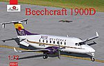 Beechcraft 1900D Mesa Airlines Aircraft -- Plastic Model Airplane Kit -- 1/72 Scale -- #72317