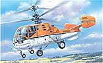 Kamov KA15M Soviet Helicopter -- Plastic Model Helicopter Kit -- 1/72 Scale -- #7256
