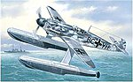 Messerschmitt Bf109W Fighter w/Floats -- Plastic Model Airplane Kit -- 1/72 Scale -- #7275