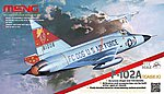 F-102A -- Plastic Model Airplane Kit -- 1/72 Scale -- #ds003