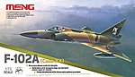 F102A (Case XX) Supersonic Interceptor -- Plastic Model Airplane Kit -- 1/72 Scale -- #ds5