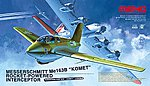ME 163B Komet Interceptor -- Plastic Model Airplane Kit -- 1/32 Scale -- #qs001