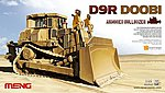 D9R Doobi Armored Bulldozer (IDF) -- Plastic Model Military Tractor Kit -- 1/35 Scale -- #ss2
