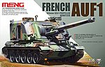 French AUF1 155mm Howitzer -- Plastic Model Military Vehicle Kit -- 1/35 Scale -- #ts004