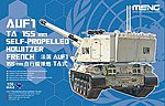 French AUF1 TA 155mm SP Howitzer -- Plastic Model Military Vehicle Kit -- 1/35 Scale -- #ts024