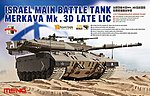 Merkava Mk.3D MBT -- Plastic Model Military Vehicle Kit -- 1/35 Scale -- #ts025