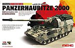 German Panzerhaubitze 2000 Tank -- Plastic Model Military Vehicle Kit -- 1/35 Scale -- #ts19