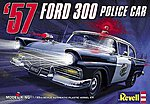 1957 Ford Police Car -- Plastic Model Car Kit -- 1/25 Scale -- #4081