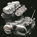 Honda 750 Engine -- Plastic Model Engine Kit -- 1/3 Scale -- #11202