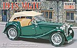 1948 MGTC -- Plastic Model Car Kit -- 1/16 Scale -- #11242