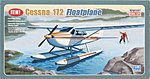 Cessna 172 with Pontoon -- Plastic Model Airplane Kit -- 1/48 Scale -- #11634