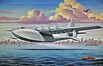 Spruce Goose -- Plastic Model Airplane Kit -- 1/200 Scale -- #11657
