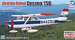 Cessna 150 CAP -- Plastic Model Airplane Kit -- 1/48 Scale -- #11667