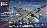PV-1 Ventura USN Post War w/2 Marking Option -- Plastic Model Airplane Kit -- 1/72 Scale -- #11681