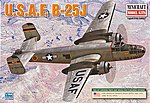 B-25 H/J USAF Post-War -- Plastic Model Airplane Kit -- 1/144 Scale -- #14653