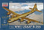 B-29A Early Service Colors -- Plastic Model Airplane Kit -- 1/144 Scale -- #14682