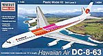 DC-8-63 Hawaiian Air -- Plastic Model Airplane Kit -- 1/144 Scale -- #14684