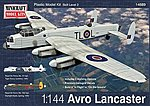 Avro Lancaster RAF/RCAF w/2 Marking Options -- Plastic Model Airplane Kit -- 1/144 Scale -- #14689