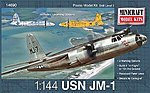 JM-1 USN -- Plastic Model Airplane Kit -- 1/144 Scale -- #14690