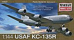 KC-135R USAF w/2 Marking Options -- Plastic Model Airplane Kit -- 1/144 Scale -- #14708
