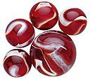 Rooster Marbles -- Marble -- #77721