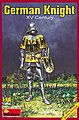 German Knight XV Century -- Plastic Model Military Figure -- 1/16 Scale -- #16002