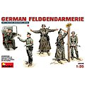 German Feldgendarmerie (5) -- Plastic Model Military Figure -- 1/35 Scale -- #35046