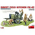 Soviet Field Kitchen KP-42 -- Plastic Model Military Diorama Kit -- 1/35 Scale -- #35061