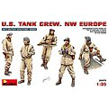 US Tank Crew NW Europe (5) -- Plastic Model Military Figure -- 1/35 Scale -- #35070