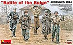 Battle of the Bulge Ardennes 1944 -- Plastic Model Military Figure -- 1/35 Scale -- #35084