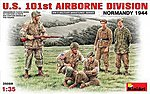 US 101st Airborne Division -- Plastic Model Military Figure -- 1/35 Scale -- #35089