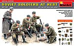 Soviet Soldiers at Rest Special Edition -- Plastic Model Military Figure -- 1/35 Scale -- #35109