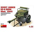 Soviet Limber 52R 353M Model 1942 -- Plastic Model Military Diorama Kit -- 1/35 Scale -- #35115