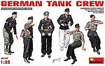 German Tank Crew (6) (New Tool) -- Plastic Model Military Figure -- 1/35 Scale -- #35167