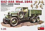 GAZ-AAA Cargo Truck Mod. 1941 -- Plastic Model Military Trcuk Kit -- 1/35 Scale -- #35173