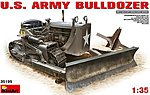 US Army Bulldozer -- Plastic Model Military Vehicle Kit -- 1/35 Scale -- #35195