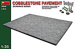 1/35 Cobblestone Pavement Section & Accessories