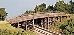 Country Road Bridge -- N Scale Model Railroad Bridge -- #9007