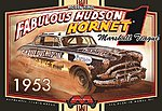 Marshall Teague's 1953 Fabulous Hudson Hornet Stock Car -- Plastic Model Kit -- 1/25 Scale -- #1206