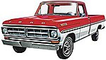 1971 Ford Ranger Pickup -- Plastic Model Car Kit -- 1/25 Scale -- #1208