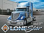 2010 International Lonestar -- Plastic Model Truck Kit -- 1/25 Scale -- #1300