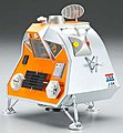 Finished Space Pod -- Pre-Built Space Plastic Model -- #2901