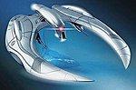 Battlestar Galactica Cylon Raider -- Science Fiction Plastic Model Kit -- 1/32 Scale -- #926
