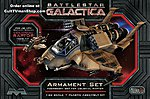 BSG Raptor Armament Set -- Science Fiction Plastic Model -- 1/32 Scale -- #968